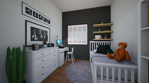 John - Kids room - by magdalenabednarczyk