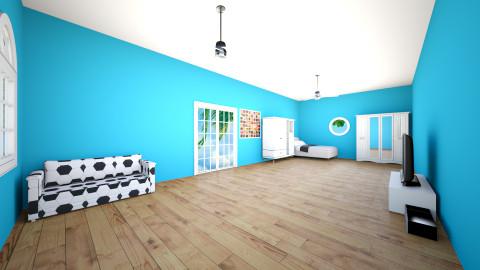 bedroom - by Nandita