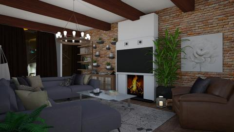 Sean Interior - Living room  - by Annalise_585333