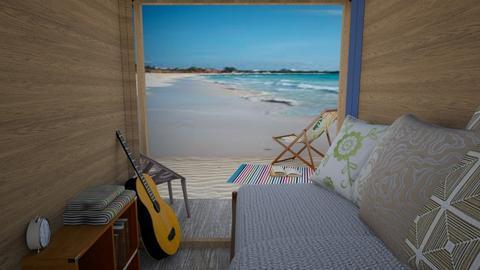 BEACH BUM - Vintage - Bedroom  - by steker2344