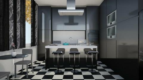 Small Kitchen - Modern - by ashley89
