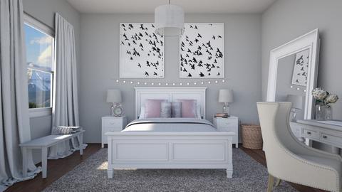 Teen Bedroom - Bedroom - by AmyDeRochie