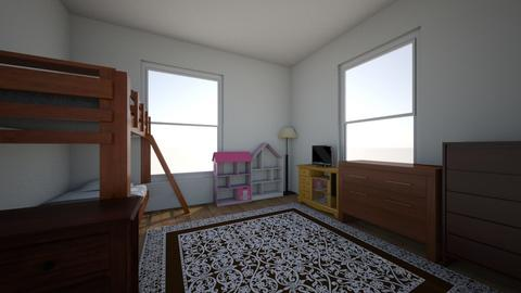 ivy and livis room - Kids room  - by daisybubbles