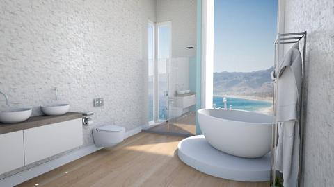 grand bath - Modern - Bathroom  - by rcrites457
