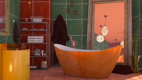 M_ Colorful - Bathroom  - by milyca8