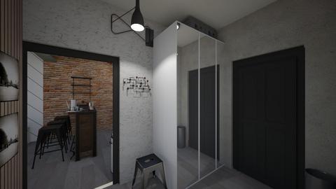 pani karolina korytarz - Living room  - by kgolla