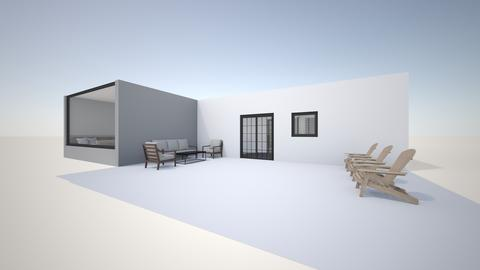Outside view_patio - by saratevdoska