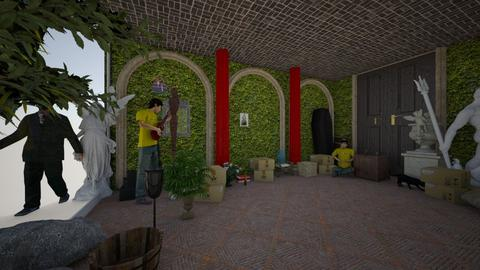 Temple Design Portal - Glamour - Bedroom  - by Wayfarer of Rither Fall