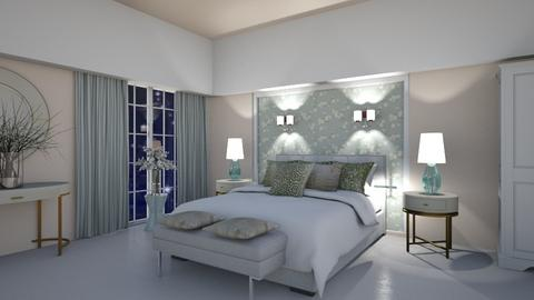 Matilda's Blurry Bedroom - by Matilda de Dappere