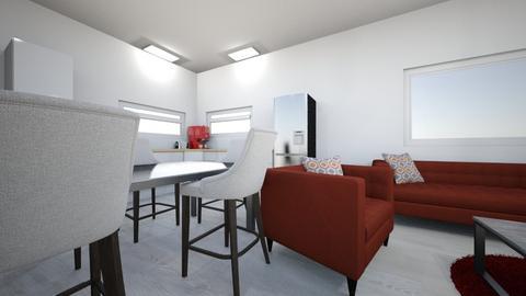 Esteban - Living room  - by Lu123piriz