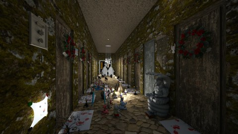Halloween Hotel Room - Classic - by Klindi Klind