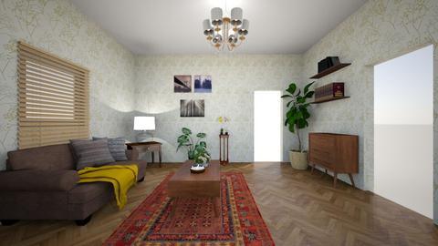 retro living - Retro - Living room  - by Galnoe