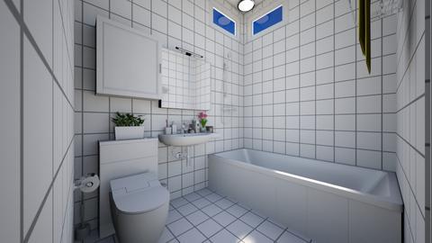 small bathroom - Minimal - Bathroom - by exoticmokai