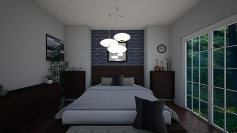 Geometric Bedroom - Modern - Bedroom  - by Jodie Scalf