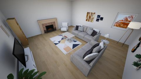Bohemian Living Room - Living room  - by peachy_blush