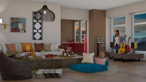 party brw - Living room  - by pachecosilv