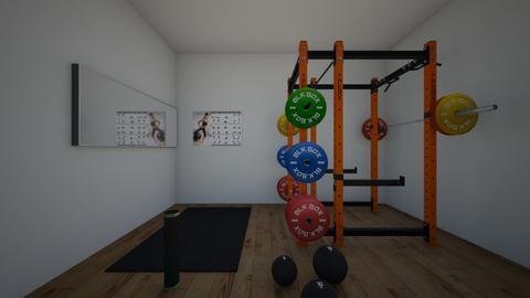 gym - by symia123