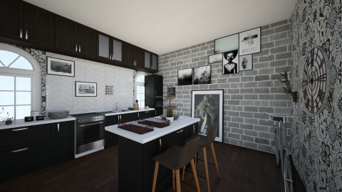 Cocina - Kitchen - by Mariacastello