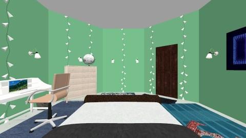 my TARDIS bedroom  - Bedroom - by aliz0b