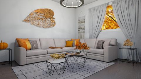fall  - Living room  - by areejkwaik