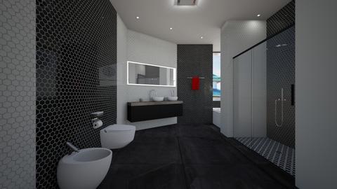 Modern has Never Been Better - Modern - Bathroom  - by JaidenLegg