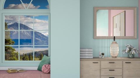 P A S T E L  - Bedroom  - by Oyisha