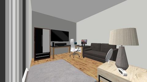 Assignment - Modern - Bedroom  - by AloyNoel