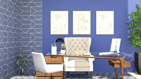 blue ofice - Office  - by nihalruttala