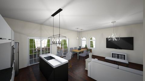 New house 9 - Kitchen - by Niva T