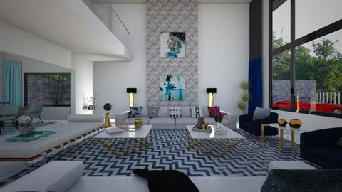 Modern glam - Living room  - by flacazarataca_1