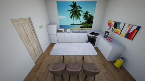 beach themed kitchen - Kitchen  - by Kayla0101