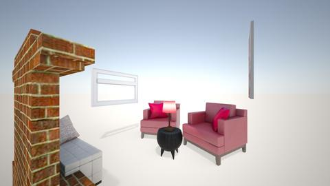 Interior Design Collab Pr - Living room  - by Payton_05