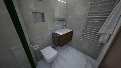 Bathroom2 - Modern - Bathroom  - by petya_zafirova