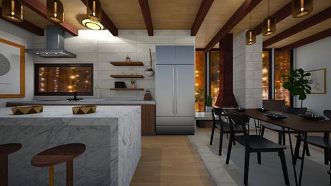 mcm - Kitchen  - by willhenning