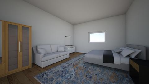 cuarto a - Bedroom  - by AMANDA REQUEJO LOZANO