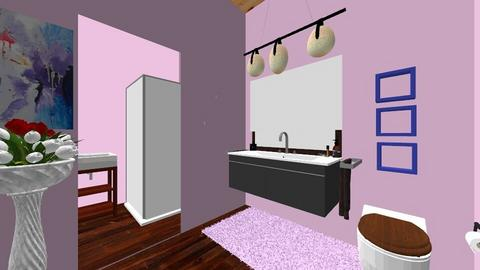 Yellow Bathroom ID1 - Bathroom  - by AbbeyJohnson04