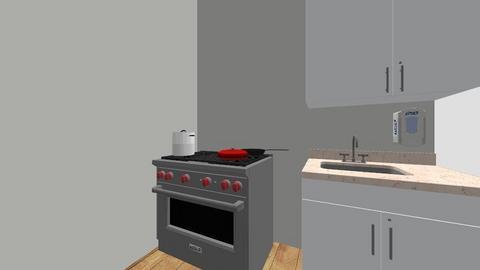 yanas kitchen - Kitchen  - by FACSEMS