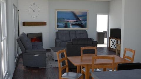 Mill Stream Square Trio E - Living room  - by Tommysno