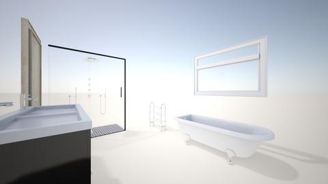 bathroom 2 - Modern - by lucyannef