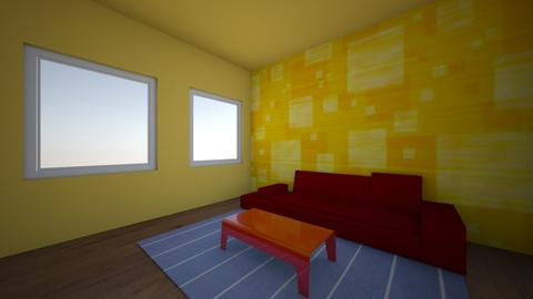 primary colors  - Living room  - by reena_loughery