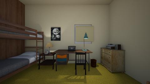 70s Bedroom - Kids room  - by WestVirginiaRebel