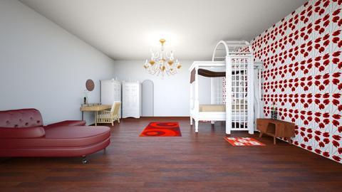 poppy contest - Bedroom  - by Navya Chintaginjala