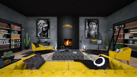 Maximalism - Living room - by Chiara Amadei