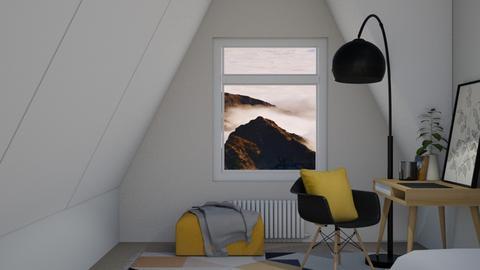 Houzz Idea 1 - Office  - by KittyKat28