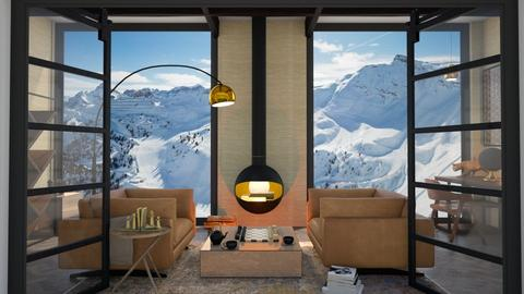 Winter lounge floor lamp - by Esko123