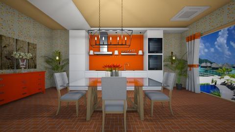 NK - Modern - Dining room - by Saj Trinaest
