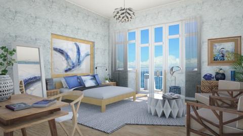 M_Blue heron - Bedroom  - by milyca8