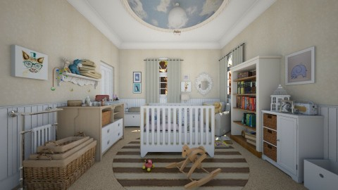 nursery - Kids room  - by AlexDi