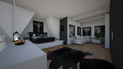 African black - Bedroom  - by ash04