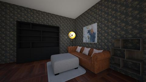 teen bedroom  - Modern - Bedroom  - by trundleyadam